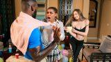 Zenci Erkeğini Elinde Tutamayan İhmalkar Kız Hüsrana Uğradı