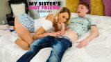 Kız Kardeşinin En Yakın Arkadaşının Ağzına Veriyor